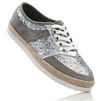 Damskie obuwie sportowe, Espadryle bonprix szaro-srebrny