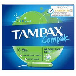 Tampax Compak Super Tampony 16 sztuk