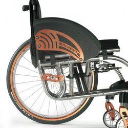 Wózek aktywny, lekki, krzyżakowy, składany z szybkozłączami Offcar Alhena