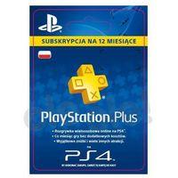 Klucze i karty przedpłacone, Sony Subskrypcja PlayStation Plus 12 m-ce [kod aktywacyjny]