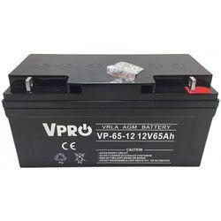 Akumulator żelowy Volt VPRO 65Ah 12V AGM VRLA