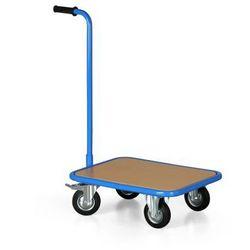 Wózek platformowy z rękojeścią