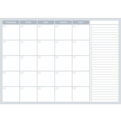 Tablice szkolne, Tablica magnetyczna suchościeralna planer tygodniowy 511