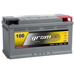 Akumulator GROM Premium 100Ah 900A EN DTR