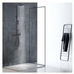 Kolumna prysznicowa PENEDA ze stali nierdzewnej, kolor czarny mat – 125 cm
