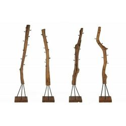 INVICTA wieszak HEMINGWAY 200 cm teak -, drewno naturalne, metal