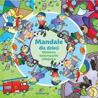 Kolorowanki, Mandale dla dzieci. Ulubione kolorowanki chłopców
