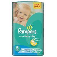 Pieluchy jednorazowe, Pampers Pieluszki Active Baby 5 Junior (11-18kg). 64 sztuk