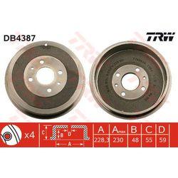 BĘBEN HAM TRW DB4387 CITROEN NEMO 1.4HDI 08-/ PEUGEOT BIPPER 1.4HDI 08-