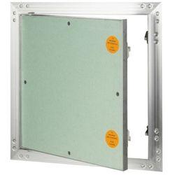 Klapa rewizyjna aluminiowa Diall z płytą g-k 40 x 40 cm