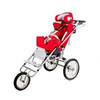 Pozostałe foteliki i akcesoria, Multifunkcyjny rehabilitacyjny fotelik samochodowy, wózek i opcjonalnie przyczepka rowerowa dla niepełnosprawnych do 75kg CARROT 3 Multiroller