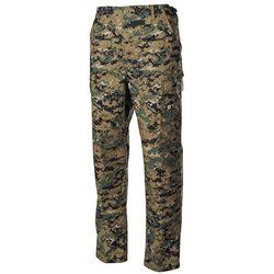 Spodnie Max-F MFH ACU Ripstop unis mater 100% Cotton długie - digital woodland