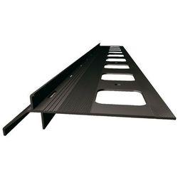 SOPRO OB 265/22- okapnik balkonowo- tarasowy, ciemnobrązowy, 200 cm