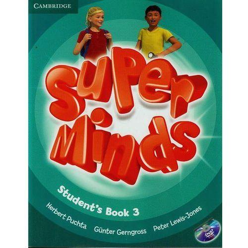 Książki do nauki języka, Super Minds 3 Student's Book (podręcznik) with DVD-ROM (opr. miękka)