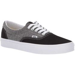 NOWE BUTY VANS ERA CHAMBRAY CANVAS BLACK/TRUE WHITE ROZMIAR 30,5/18CM