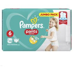 PIELUCHY PAMPERS PANTS A44 LARGE 6 15+*
