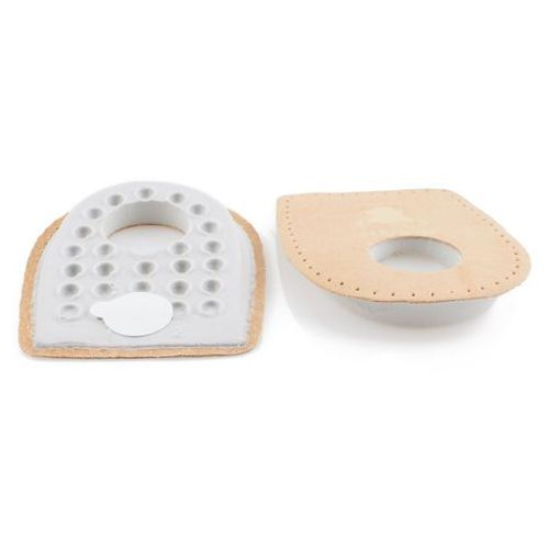 Wkładki do butów, Podpiętki na ostrogi skórzane - lateksowe - Podpiętki do butów