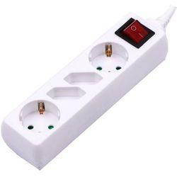 V-tac V-TAC Przedłużacz 4 Gniazda z przełącznikiem 2+2 (3G 1.5MM2 X 1.5M ) Biały VT-1117 SKU 8770 - Rabaty za ilości. Szybka wysyłka. Profesjonalna pomoc techniczna.