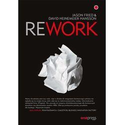 Rework - Fried Jason, Heinemeier Hansson David (opr. miękka)