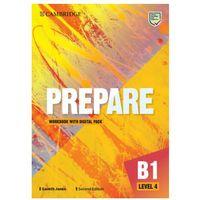 Książki do nauki języka, Prepare level 4 workbook with digital pack (opr. miękka)