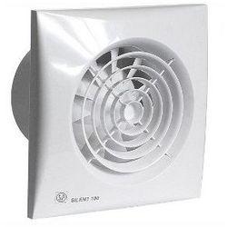 Wentylator łazienkowy cichy Silent 200 CZ. Biały