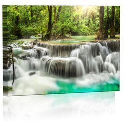 Wodospad Obraz podświetlany LED