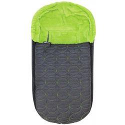 Emitex niemowlęcy śpiworek zimowy ELIPSE, czarny/zielony - BEZPŁATNY ODBIÓR: WROCŁAW!
