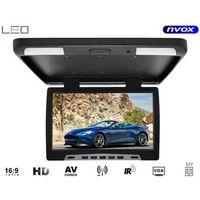 """Monitory samochodowe, NVOX Monitor podsufitowy podwieszany LED 15"""" z IR FM - DARMOWA DOSTAWA!!!"""