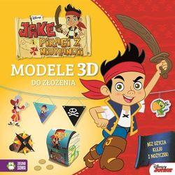 Jake i piraci z Nibylandii. Modele 3D do złożenia - Disney - Praca zbiorowa (opr. broszurowa)