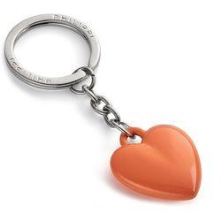 Brelok do kluczy małe serduszko pomarańczowe Coeur Philippi (P273068)