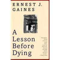 Książki do nauki języka, Lesson Before Dying (opr. miękka)