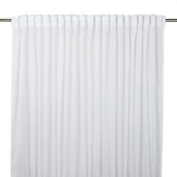 Firana GoodHome Olympe 280 x 260 cm biała