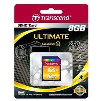 Karty pamięci, Karta pamięci Transcend SD SDHC 8 GB