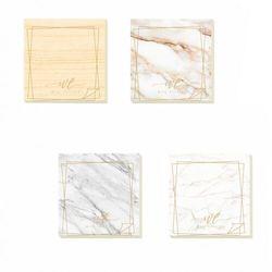 Karteczki elektrostatyczne M&G 76x76 mm - Marble (AS33Q104). mix