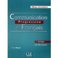 Książki do nauki języka, Communication progressive intermediaire 2ed książka CD aud (opr. miękka)