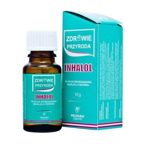 Leki na katar i zatoki, Inhalol krople do inhalacji x 10g