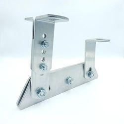 Wspornik ławy kominiarskiej aluminiowy ze śrubami nierdzewnymi A2
