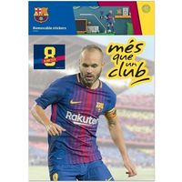 Naklejki na ściany, Imagicom Naklejka ścienna zdejmowalna FC Barcelona - Iniesta - 2 arkusze