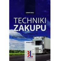 Książki o biznesie i ekonomii, Techniki zakupu (opr. miękka)