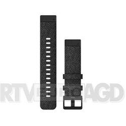 Garmin pasek fenix 6s 20mm QuickFit Hthr Black Nylon Band w/Black 010-12875-00 (Fioletowo-czarny)