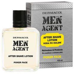 Dermacol Men Agent Poker Face woda po goleniu 100 ml dla mężczyzn