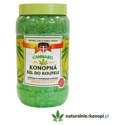 Relaksująca sól do kąpieli z olejem konopnym 1,2 kg