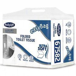 Papier toaletowy w składce Bulkysoft Excellence 2 warstwy 6000 szt. biały