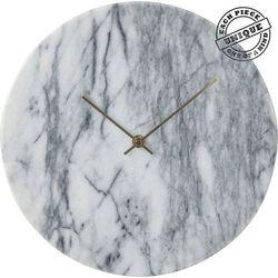 KARE Design:: Zegar ścienny Desire Marble Biały Ø30cm - szary Kare -20% (-20%)