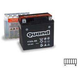 Akumulator motocyklowy QUAND YTX5L-BS 12V 4Ah 70A P+
