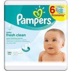 Pampers Chusteczki Baby Fresh Clean 6pack 6x64 szt (384 szt.)