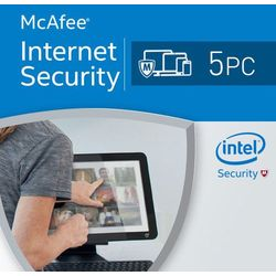 McAfee Internet Security 5 PC / 1 Rok