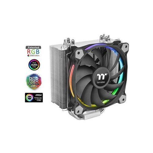 Radiatory i wentylatory, Thermaltake Chłodzenie CPU Riing Silent 12 RGB edycja Sync (wentylator 92mm, TDP 150W)