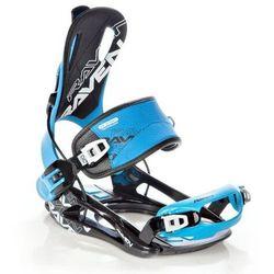 Wiązania snowboardowe raven ft270 (blue) 2020