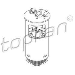 Pompa paliwa TOPRAN 721 469